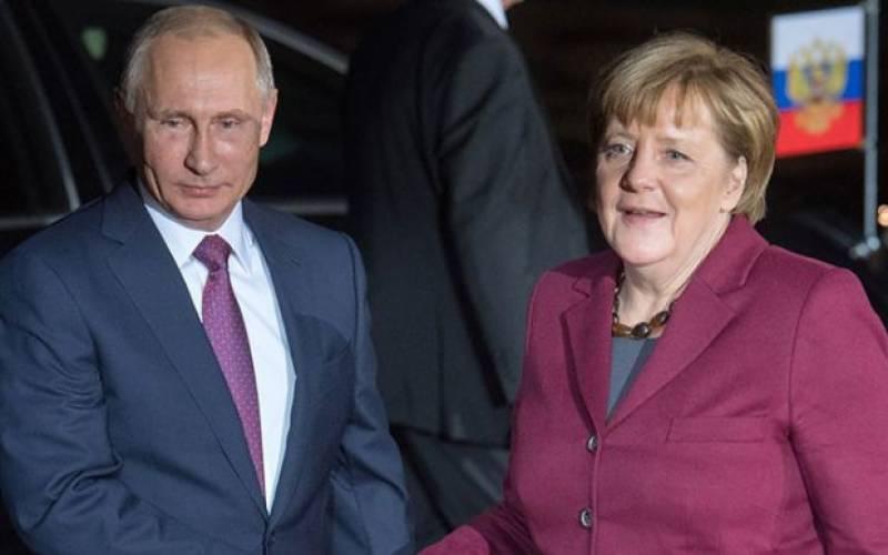 Nord Stream 2 tematem rozmowy Merkel z Putinem