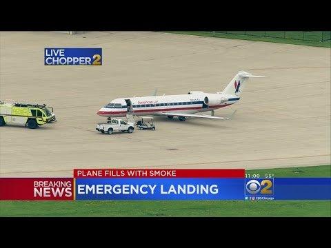 Awaryjne lądowanie samolotu z O'Hare