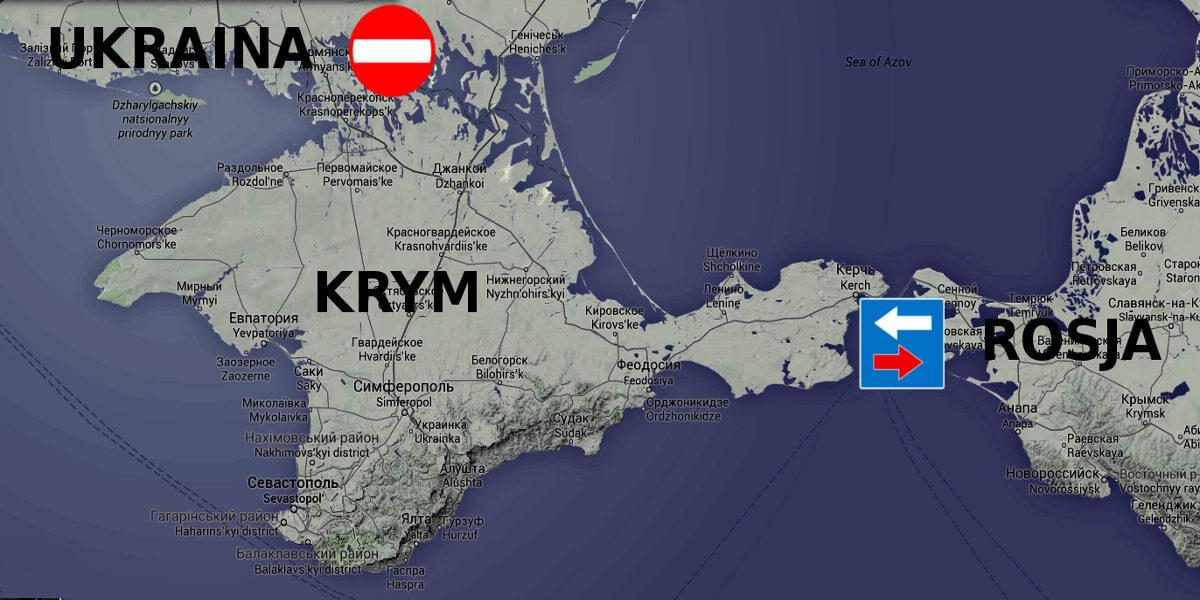 Rosja zasiedla anektowany Krym