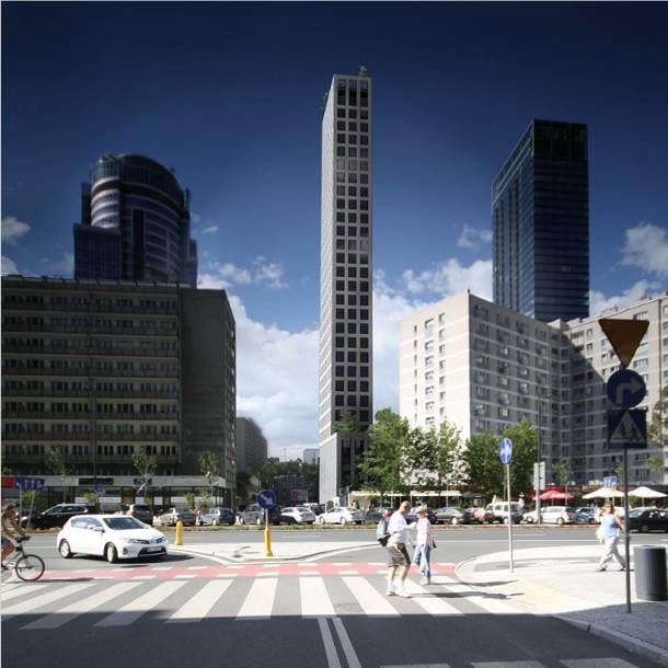Najwęższy wieżowiec w Warszawie. Pin Tower ma stanąć w centrum