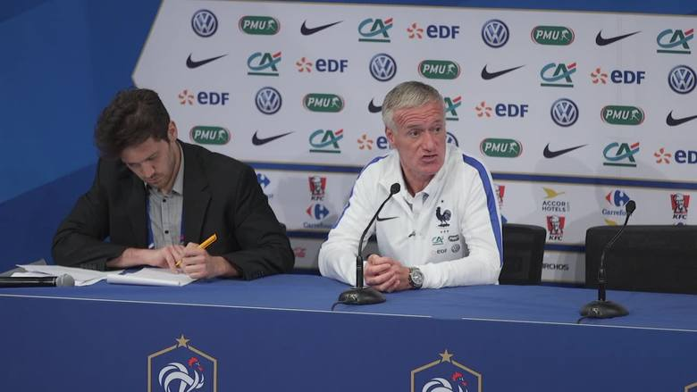 Francja zagra towarzysko z Anglią. Deschamps: To nie będzie rewanż za porażkę ze sparingu