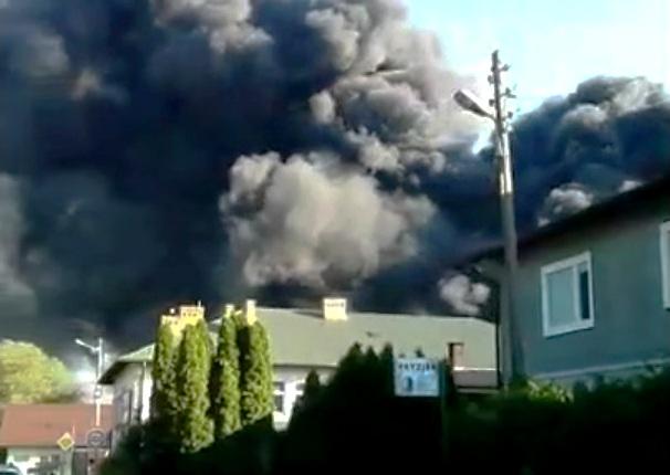 Podpalono polską szkołę w Mościskach na Ukrainie