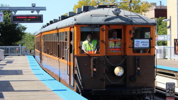 Przejażdżka historycznym pociągiem CTA