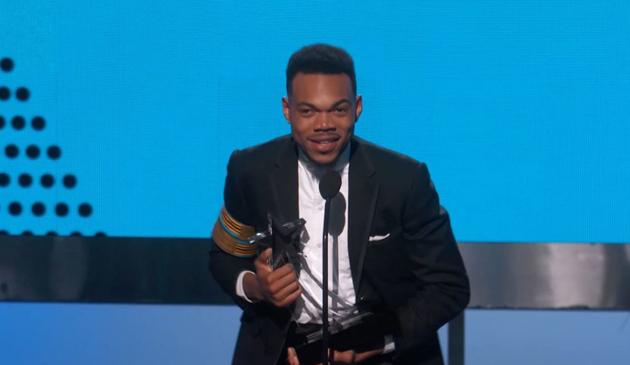 Chance the Rapper laureatem humanitarnej nagrody BET 2017
