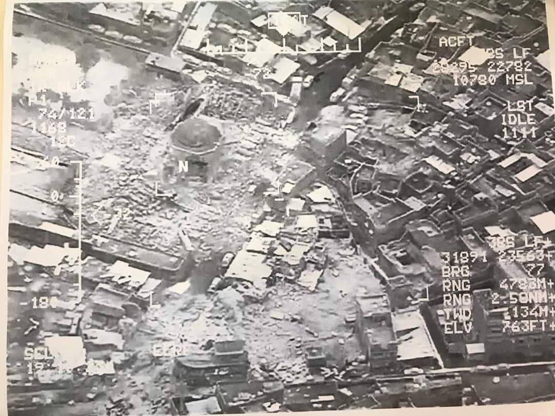 Irak: Państwo Islamskie wysadziło w powietrze słynny antyczny meczet w Mosulu