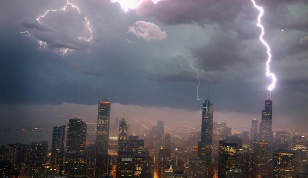 Burzowe popołudnie w Chicago