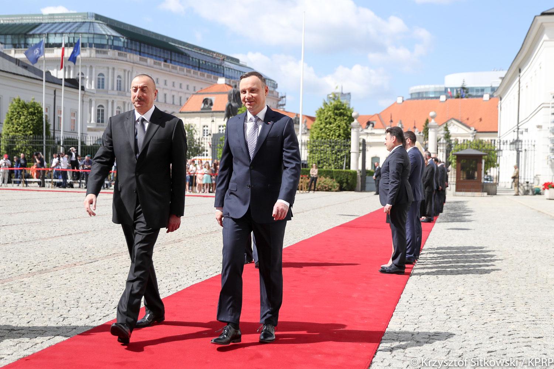 Prezydenci Polski i Azerbejdżanu o perspektywach rozwoju relacji polityczno-gospodarczych