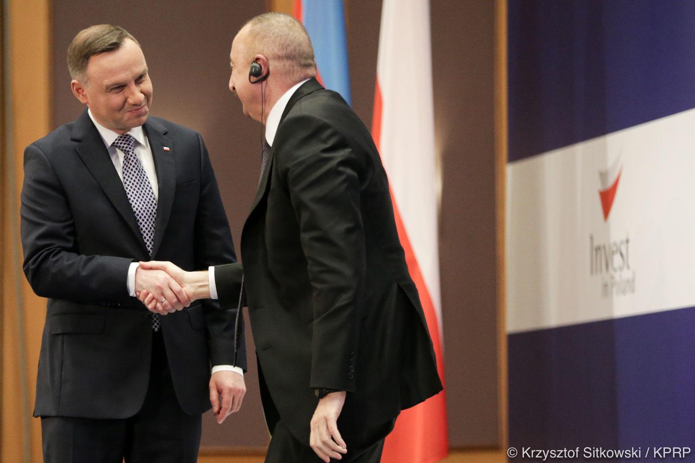 """Polsko-Azerbejdżańskie Forum Biznesowe """"Azerbejdżan jest ważnym partnerem Polski w rejonie Kaukazu"""""""