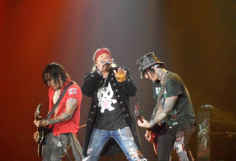 Koncert Guns'n'Roses w Gdańsku. 40 tys. fanów na Stadionie Energa