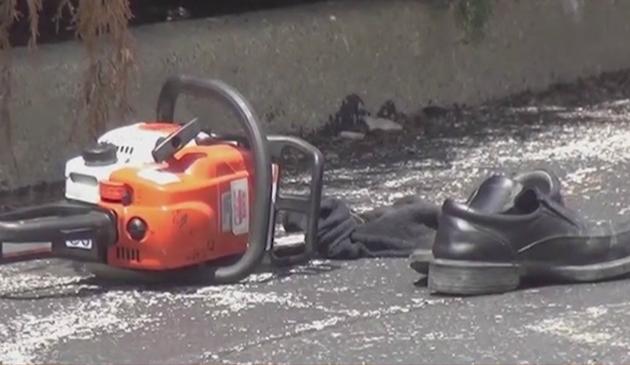W Arlington Heights mężczyzna zaatakował kierowcę piłą motorową