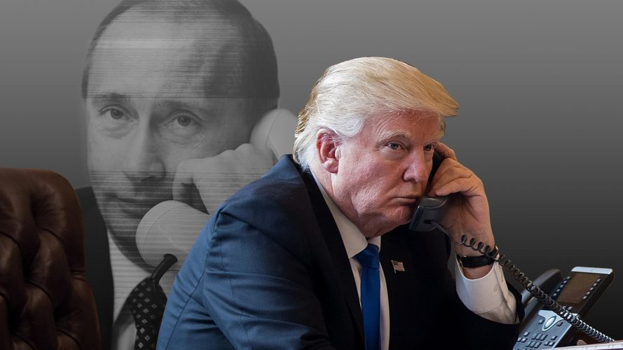 Trump krytykowany za telefon do Putina