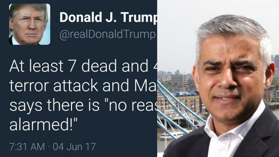 """Donald Trump o zamachu w Londynie: """"Jeśli nie zmądrzejemy to będzie tylko gorzej"""""""