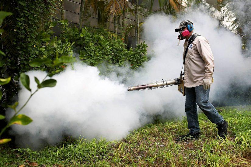 Substancja, którą spryskiwano tereny z wirusem Zika, może być szkodliwa dla dzieci