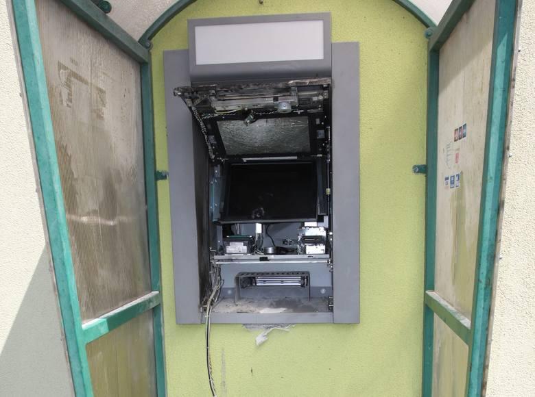 Lubuskie: Gang wysadzający bankomaty rozbity. W akcji brało udział blisko 200 policjantów