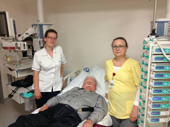 Lech Wałęsa w szpitalu: Władku jestem z Tobą w każdej Twojej decyzji! FOTO