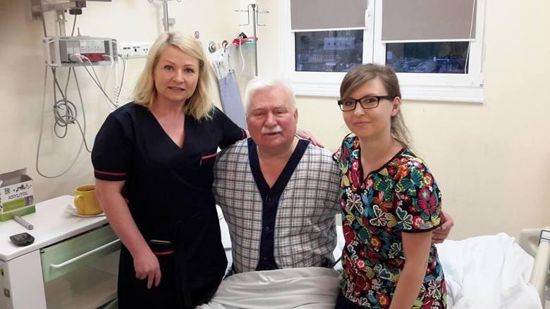 Lech Wałęsa wyszedł ze szpitala. Jego stan się poprawił