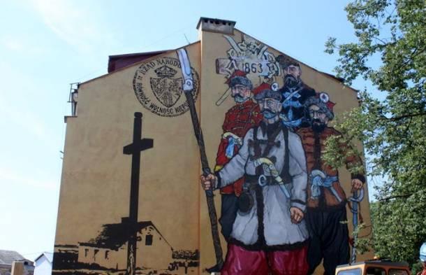 Imponujący mural powstał w Łomży