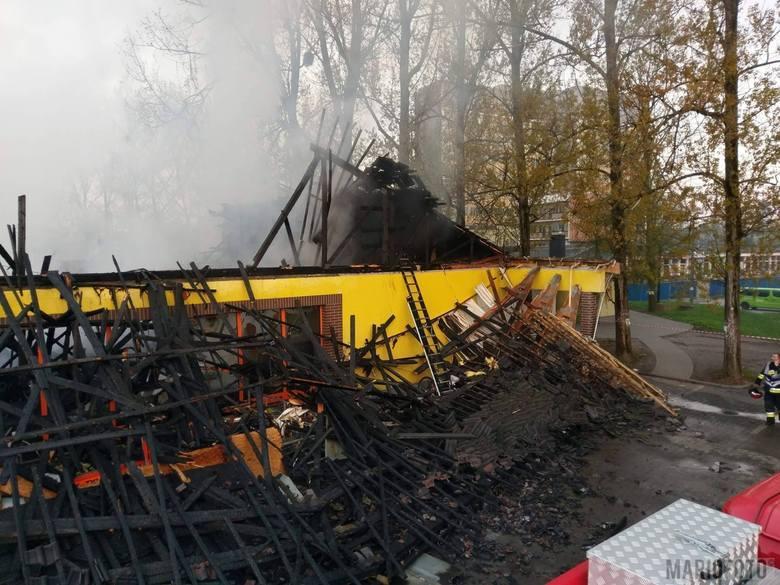 Opolskie: Bezdomny oskarżony o podpalenie Biedronki w Ozimku. To miała być zemsta
