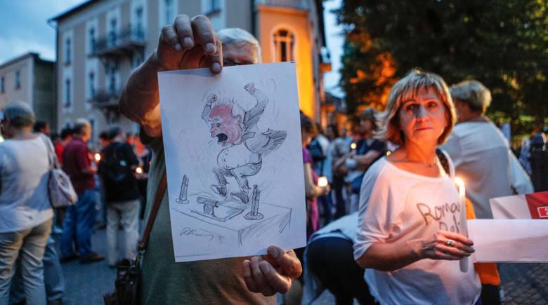 Dzisiaj protesty KOD pod sądami na całym Podkarpaciu