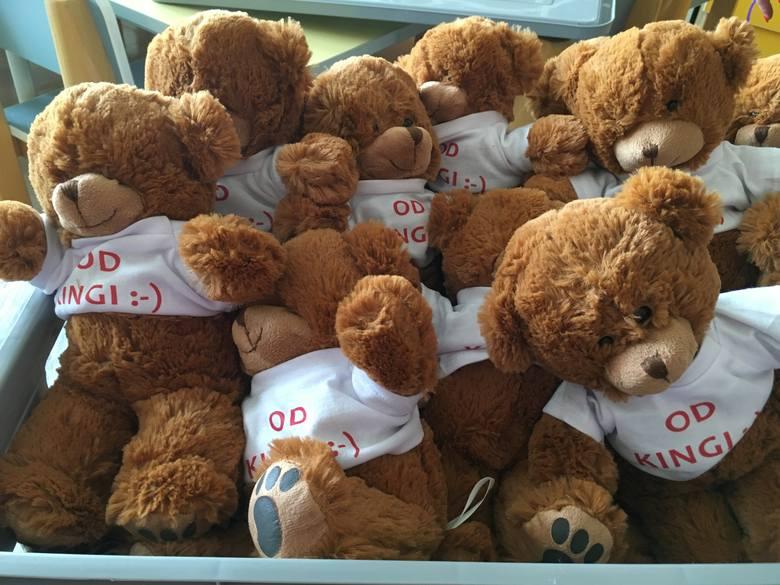100 pluszowych misiów podarowała tajemnicza Kinga Uniwersyteckiemu Szpitalowi Klinicznemu w Opolu