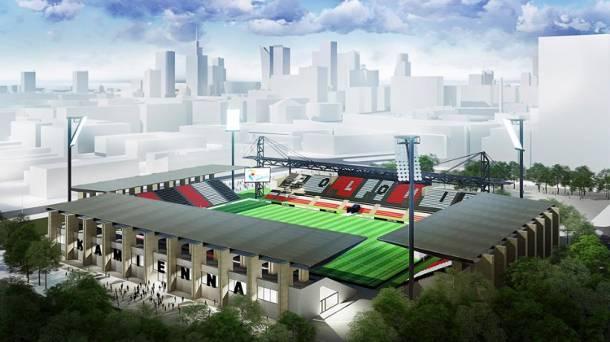 Warszawa: Remont stadionu Polonii. Nowe trybuny i bieżnia za 57 mln zł