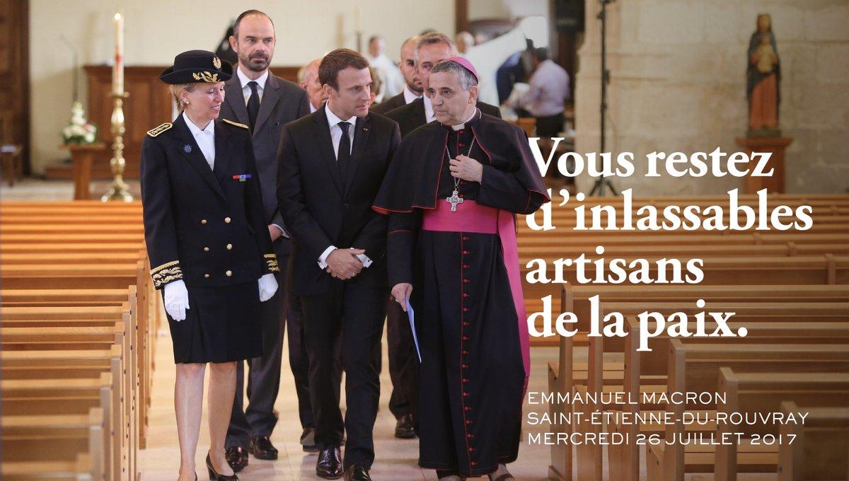 Francja: obchody rocznicy bestialskiego zabójstwa księdza przez dżihadystów