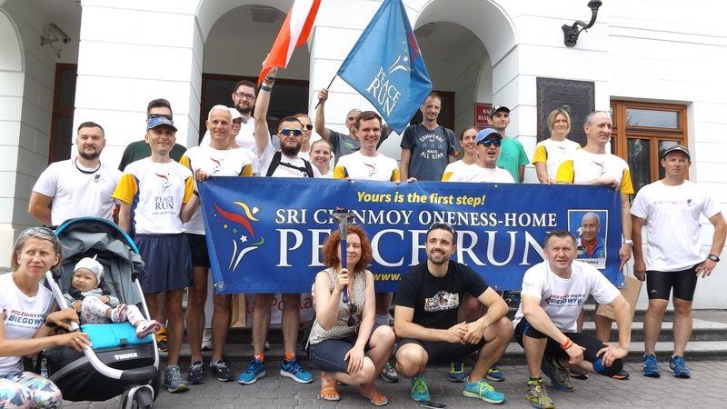 Bieg Pokoju (Peace Run) w Białej Podlaskiej
