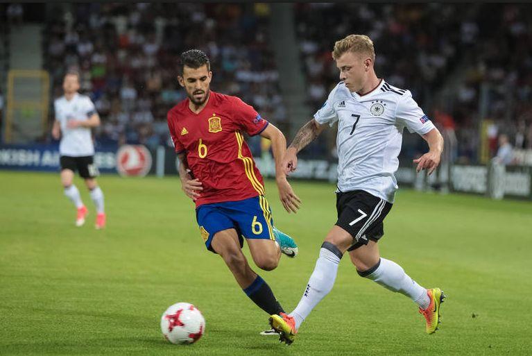 Finał Euro U-21 w Krakowie: Niemcy mistrzami, Hiszpania płacze