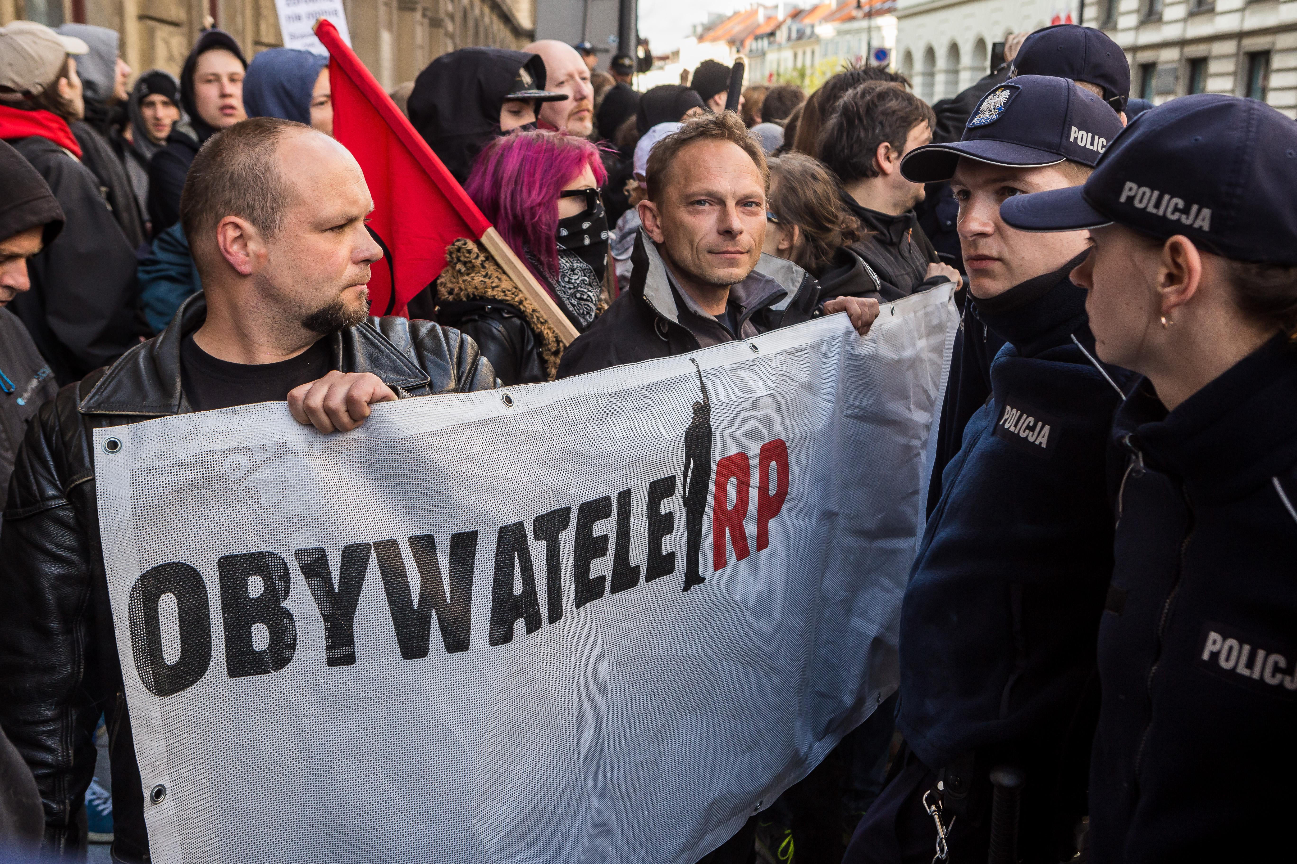 Warszawa: 117 wniosków do sądu po wczorajszych manifestacjach
