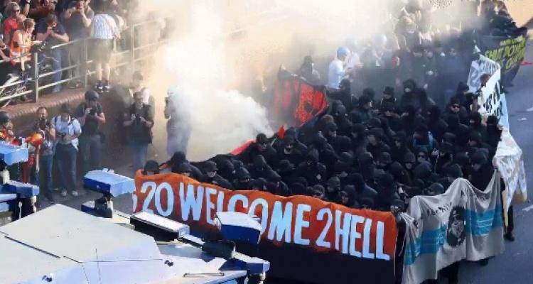 Polacy brali udział w zamieszkach w Hamburgu
