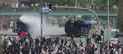 """Pierwsze szacunki strat w wyniku zamieszek ulicznych podczas """"Szczytu G20"""""""