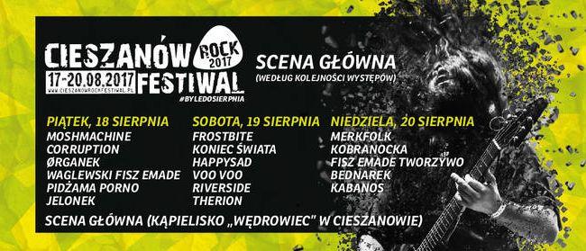 Podkarpacie: W sierpniu Cieszanów Rock Festiwal 2017