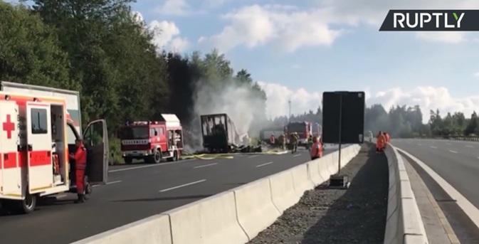 Wypadek autobusu w Brazylii. Co najmniej 17 ofiar