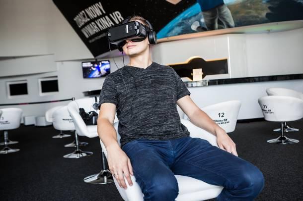 Warszawa: Pierwsze kino VR w Polsce. Widz staje się aktorem i reżyserem