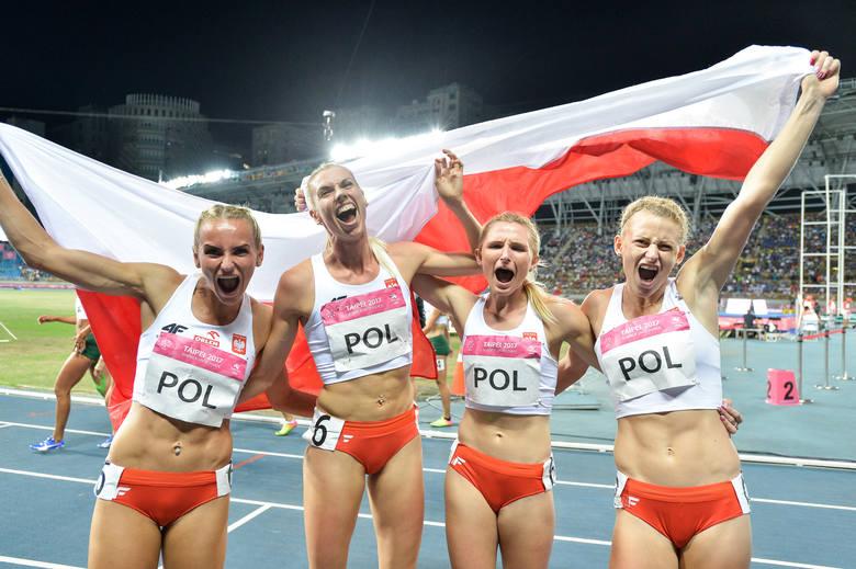Złoto sztafety 4×400 m kobiet. Ostatnie polskie medale w Tajpej [PODSUMOWANIE]