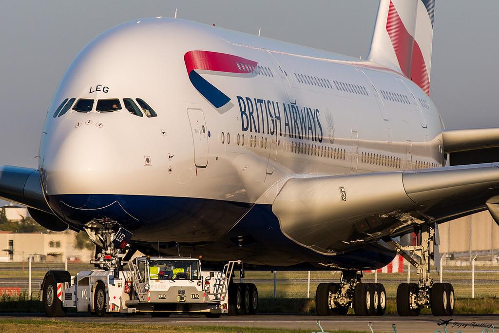 Z Chicago do Londynu największym samolotem świata