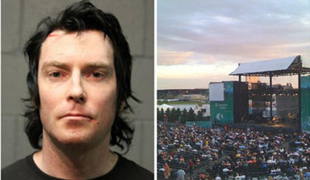250 tysięcy dolarów kaucji dla mężczyzny, który zaatakował nożem dwie osoby podczas koncertu