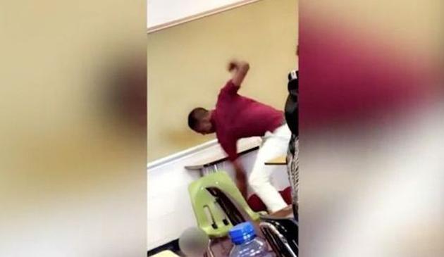Wisconsin: Uczeń szkoły średniej aresztowany za pobicie nauczyciela