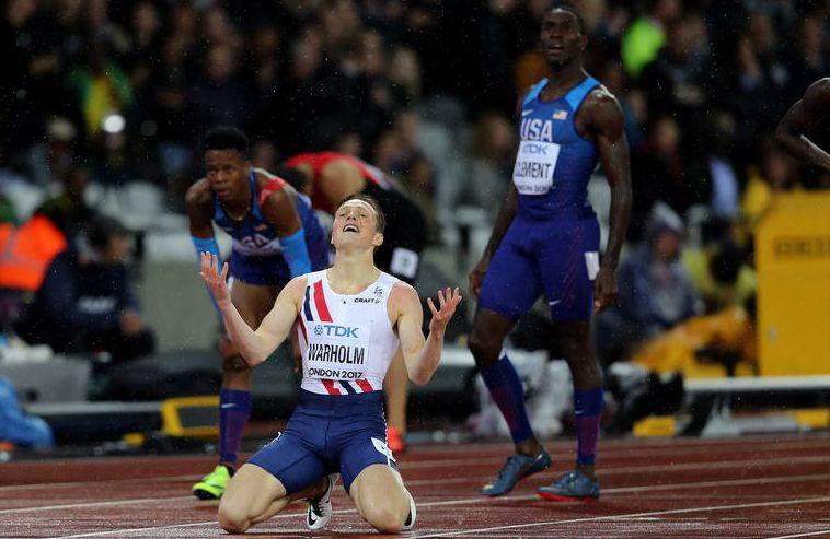 Karsten Warholm mistrzem świata na 400 m przez płotki