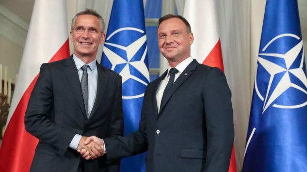 Sekretarz Generalny NATO z wizytą w Polsce: rozmowy z prezydentem