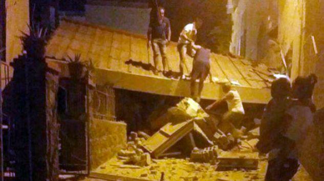 Zniszczenia po trzęsieniu ziemi na włoskiej wyspie Ischia. Zaginieni i ranni