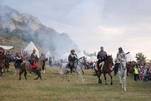 Śląsk: Turniej rycerski pod zamkiem w Olsztynie
