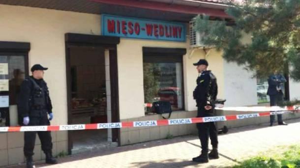 Dramatyczne sceny w Zabrzu: Mężczyzna wszedł do mięsnego i strzelił do ekspedientki
