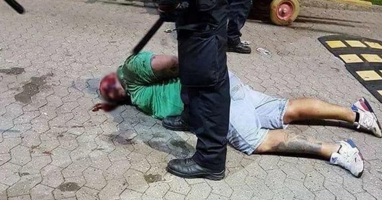 Kopenhaga: policjanci uderzają kibica z Polski, przewracają na ziemię i biją. Bez powodu! Polskie MSZ interweniuje
