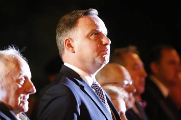 """Prezydent Andrzej Duda w Wieluniu : """"Atak na Wieluń jest symbolem bestialstwa"""""""