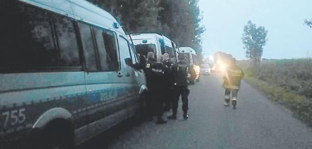 Policjanci znaleźli rozszarpane ciało…