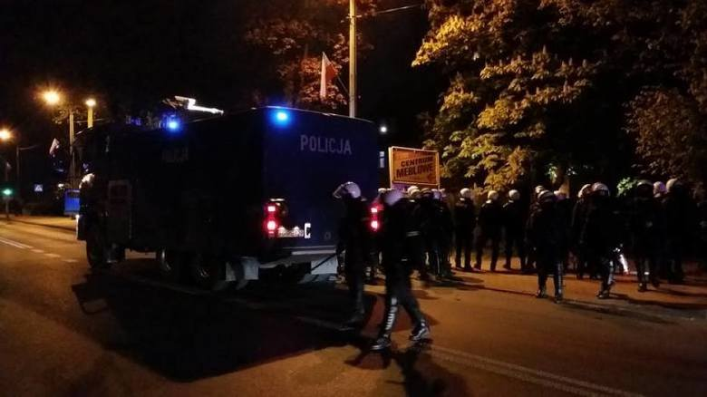 Zadyma przed meczem Ruchu Chorzów – GKS Tychy