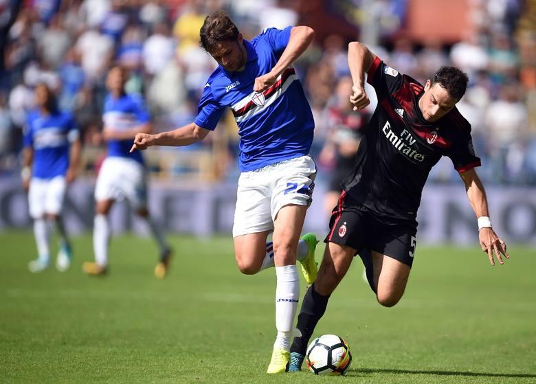 Sampdoria pokonała bezradny Milan. Cały mecz Bereszyńskiego