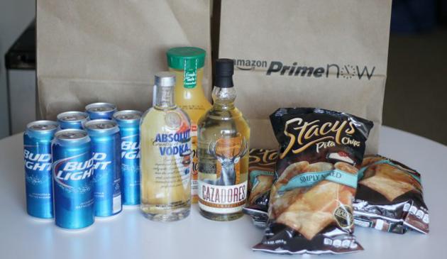 Amazon rozwija usługi w Chicago: Dostarcza alkohol w ciągu godziny