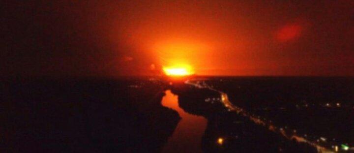 Ukraina: Wielki wybuch składu amunicji. Ewakuowano prawie 30 tysięcy osób